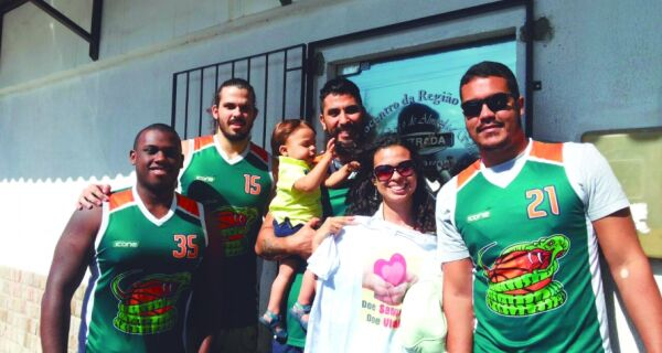 Equipe Kobras Basketball de Cabo Frio se mobiliza por doações de sangue
