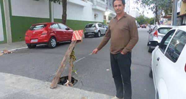 Cabo Frio vive sina de ruas esburacadas