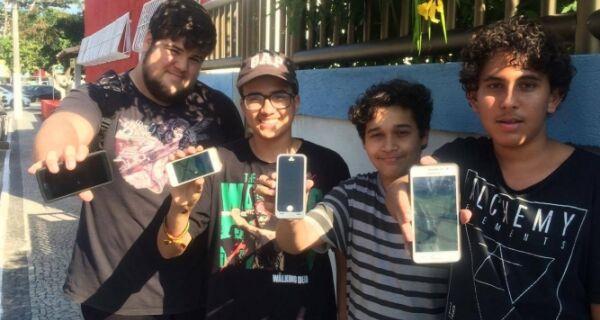 Um dia jogando Pokémon Go em Cabo Frio