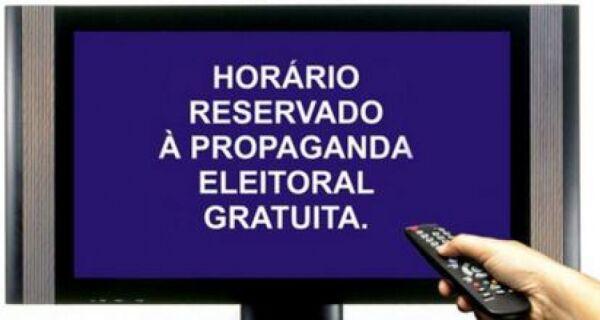 Propaganda eleitoral gratuita de rádio e TV começa hoje