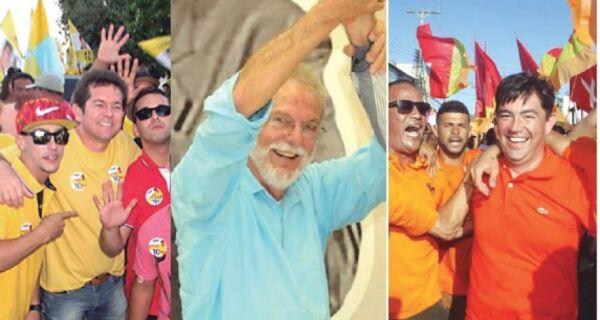 Arraial mantém tradição das cores nas eleições