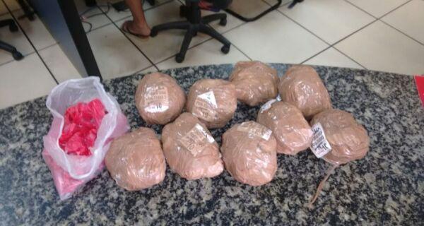 Menor é detido com mais de 600 cápsulas de cocaína no Manoel Corrêa