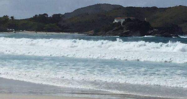 Alerta de ressaca para todo o litoral do Rio de Janeiro