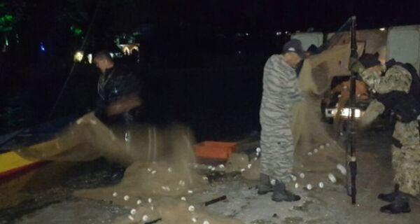 Pescadores são detidos em defeso da Lagoa de Araruama