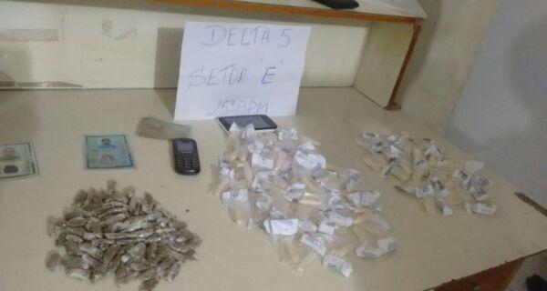 Polícia prende grupo que transportava drogas na Rodovia Amaral Peixoto