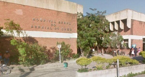 Crise em Cabo Frio sobrecarrega hospital de Arraial