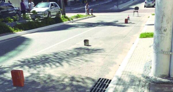 Guardadores 'privatizam' ruas do centro da cidade