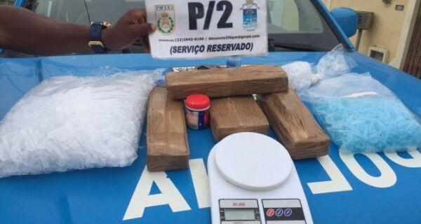 Polícia apreende carga de maconha enterrada no Tangará