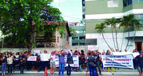 Servidores de Cabo Frio vão pressionar Judiciário