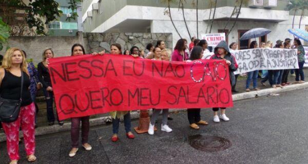 Protesto contra Alair e Justiça vira cobrança ao futuro governo