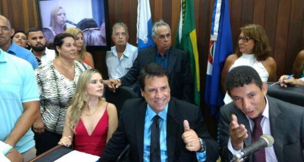 Marquinho Mendes toma posse como prefeito de Cabo Frio