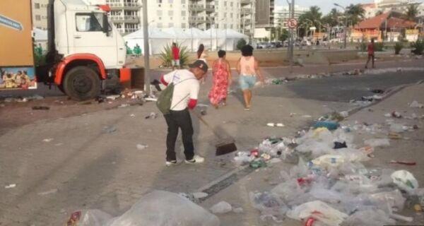 Comsercaf recolhe 200 toneladas de lixo