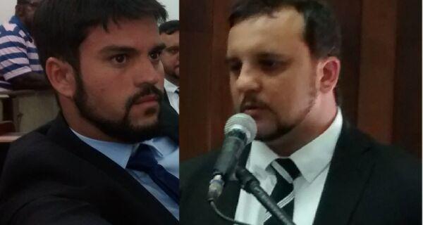 Escolhidas lideranças na Câmara: Miguel Alencar, do governo, e Rafael Peçanha, da oposição
