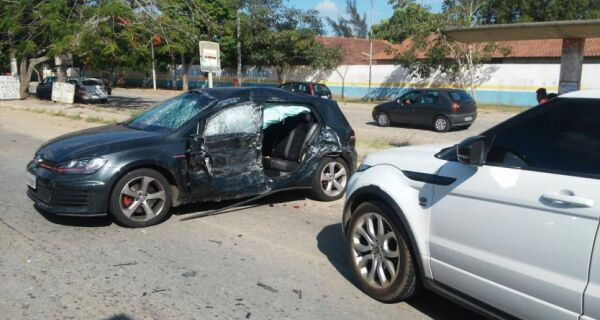 Giuliano Castro estaria dormindo no banco traseiro na hora do acidente com filho de Bonner e Fátima