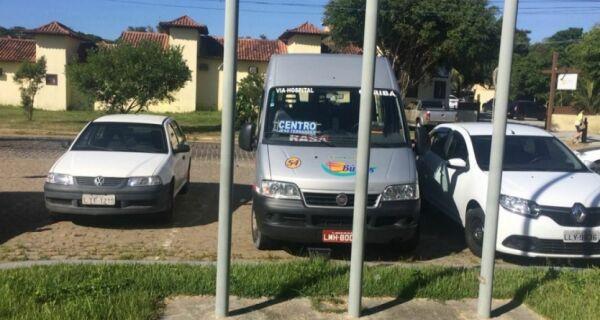 Vans são assaltadas em Búzios