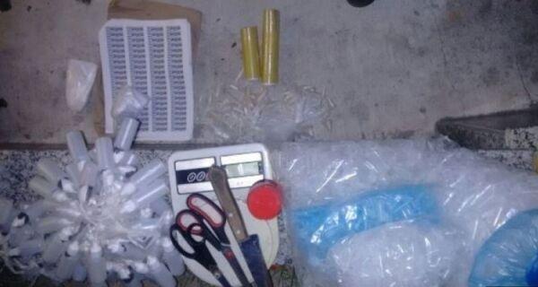 Polícia militar apreende carga de cocaína em Cabo Frio