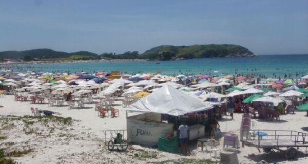 Previsão indica que sol se despede em Cabo Frio