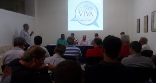 Cidade Viva Verão debate planejamento e problemas imediatos
