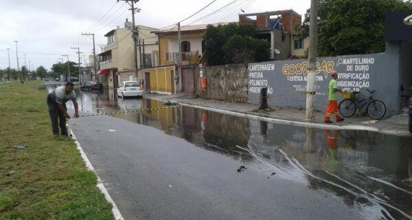 Prefeitura de Cabo Frio faz ações emergenciais pela chuva