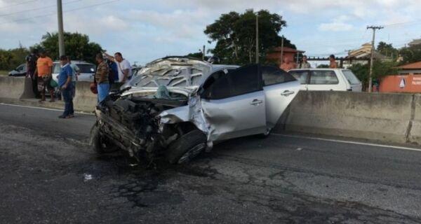 Carro atropela e mata ciclistas na Ponte Wilson Mendes