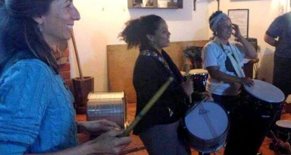 Coletivo Griot realizará oficina de percussão no antigo Convento