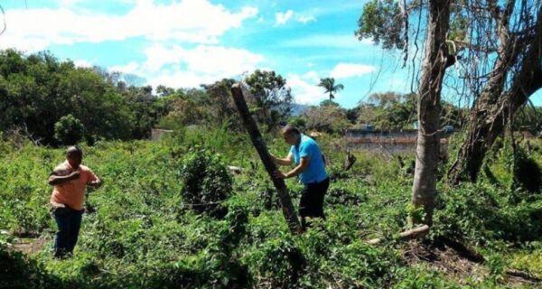 Prefeitura faz ação de combate a invasões em Tamoios