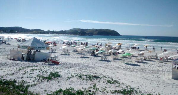 Segunda-feira começa com calor e nebulosidade em Cabo Frio