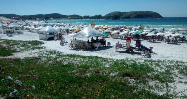 Sábado de muito calor em Cabo Frio e sem previsão de chuva
