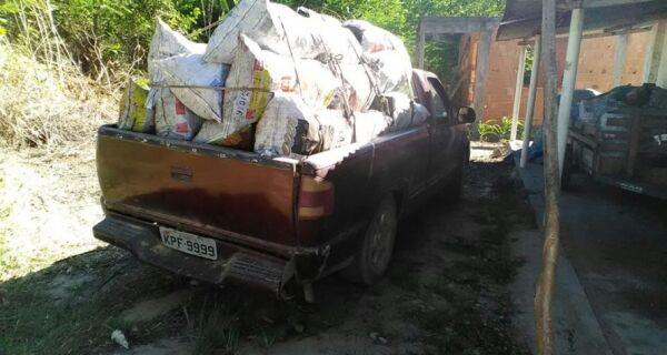 Polícia descobre fábrica de carvão ilegal na área rural de Cabo Frio