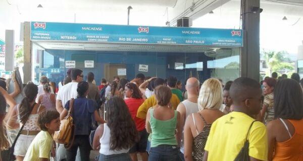 Rodoviárias da região vão receber mais de 860 ônibus extras no carnaval
