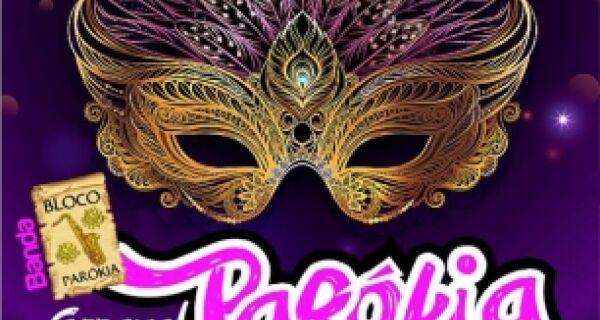 Sexta-feira é dia de Baile de Máscaras do Parókia