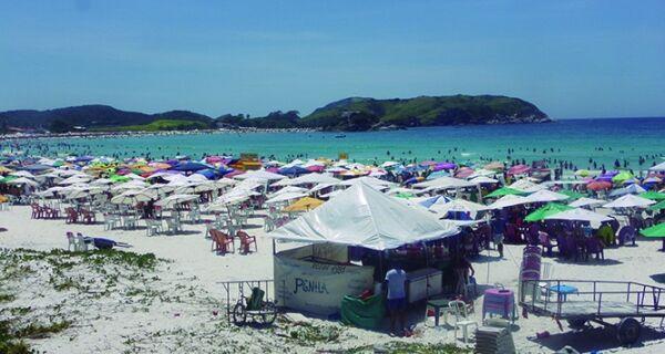 Praia do Forte será fechada no Carnaval