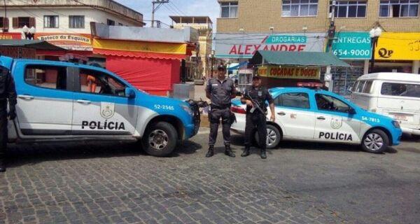 Após terror em ônibus, policiamento em Saquarema é reforçado