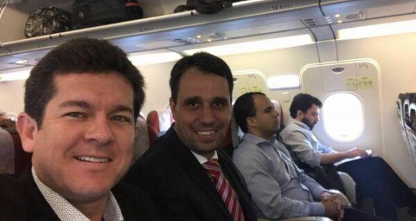 Renatinho vai a Brasília buscar acordo com o Governo Federal
