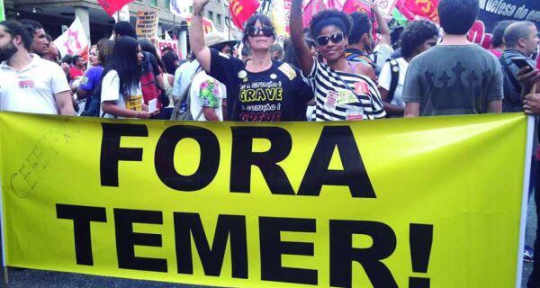 Cabo Frio marca presença em protesto contra reforma da previdência