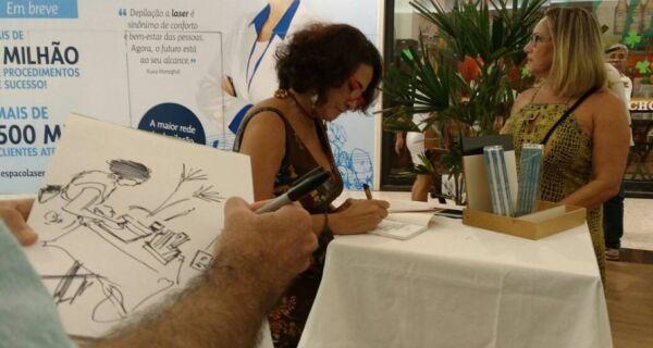 Luciana Branco faz lançamento na Semana Teixeira e Sousa