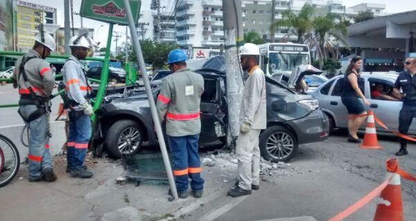 Morre vítima de acidente de trânsito na Avenida Júlia Kubitschek