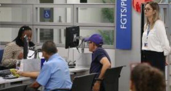 Mais de 3,5 milhões de trabalhadores sacaram FGTS inativo