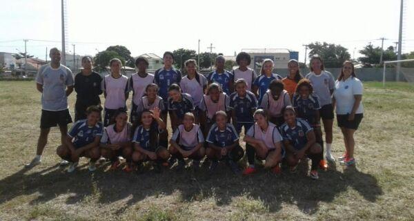 Seleção feminina de Cabo Frio enfrenta Estados Unidos sub-19