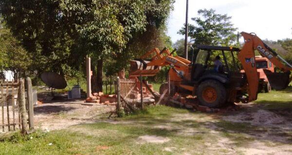 Prefeitura faz operação no Parque Mico Leão Dourado