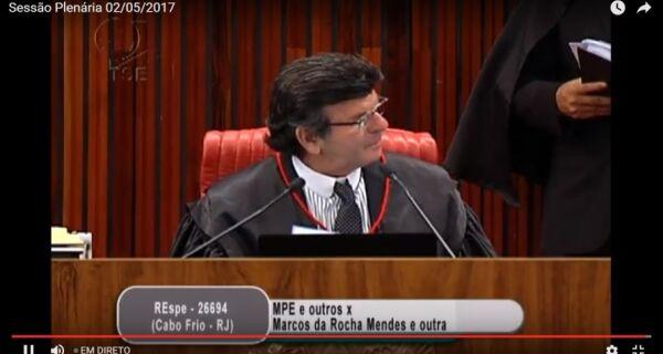 Ministro do TSE pede vistas de processo e decisão sobre Marquinho é adiada