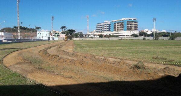 Complexo Esportivo Aracy Machado vai ganhar pista de atletismo