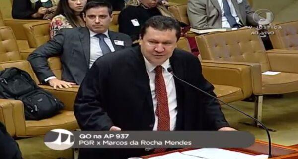 Conclusão de sessão sobre caso de Marquinho Mendes no STF fica para esta quinta (1º)