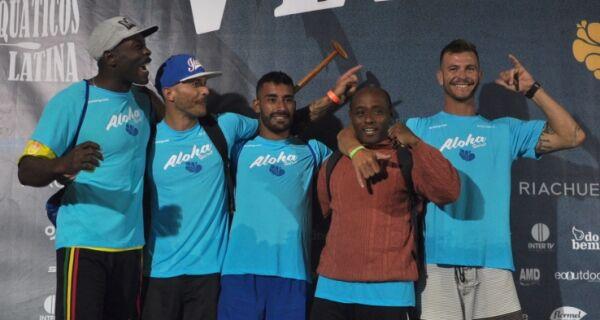 Fundada há sete meses, equipe de canoa comemora sucesso no Aloha Spirit