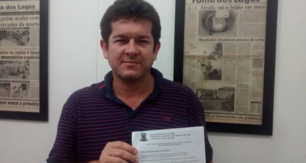 Renatinho revela que dívida de Arraial passa dos R$ 40 milhões