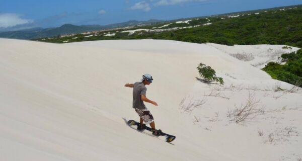 Fechando Semana do Ambiente, Parque Estadual promove oficina de sandboard