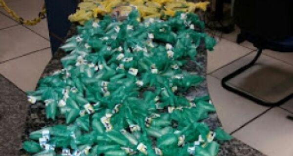 Polícia apreende carga de drogas no Buraco de Boi, em Cabo Frio