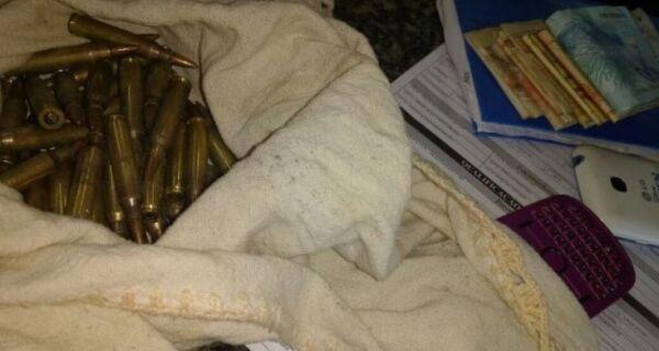 Polícia encontra munição para fuzil na Rainha da Sucata, em Cabo Frio
