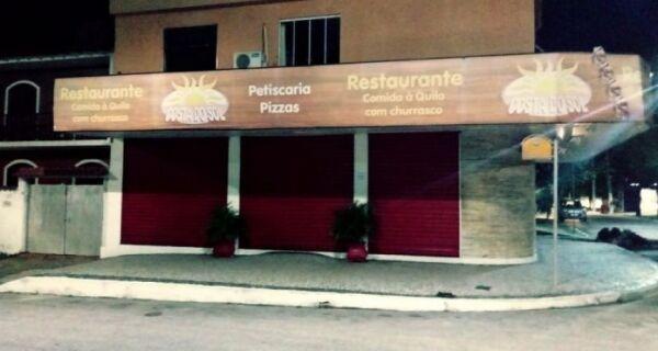 Restaurante Costa do Sol é assaltado
