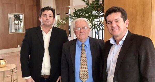 Em viagem a Brasília, prefeito de Arraial tenta aumentar operação no Porto do Forno